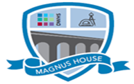 DWHS- Magnus House badge